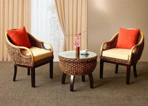 Wholesale Rattan Living Set Furniture