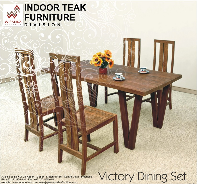 Indoor Teak Dining Table From Indonesia Wholesale Indonesian - Indonesian teak dining table